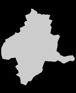 群馬県シルエット