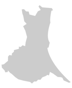 茨城県シルエット